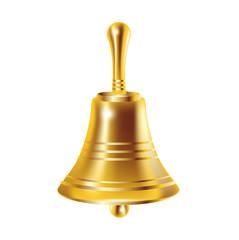 single bronze bell