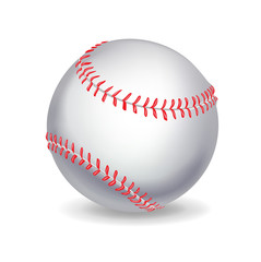 single baseball ball