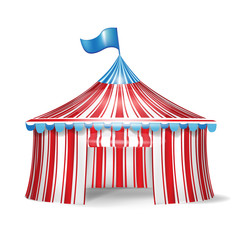 single circus tent