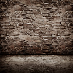 Stone vintage wall