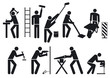 Handwerker Piktogramm
