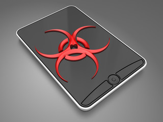 virus in the smartphone