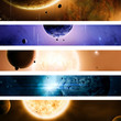Space Universe Banner Set - 43415847