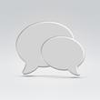 Conversation icon concept