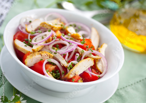 Chicken andTomato Salad