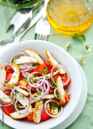 Chicken and Tomato Salad