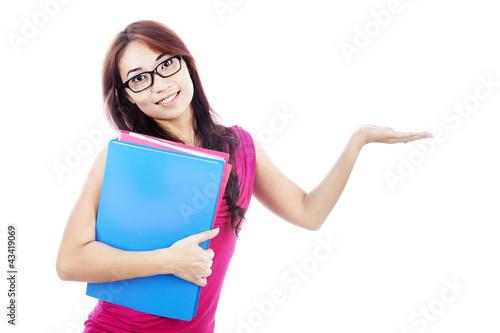 Presenting gesture