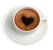 coffe cup with heart