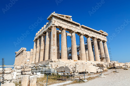 Parthenon in Acropolis, Athens