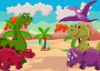 funny dinosaur cartoon