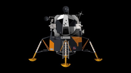 Apollo 11 lunar lander.