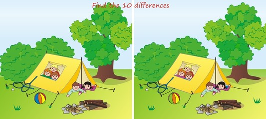 camp-10 differences