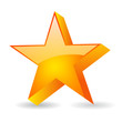 Vector glass star
