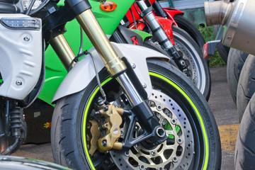 fourche moto