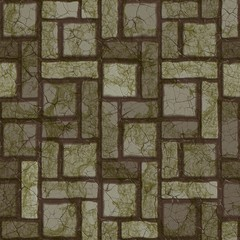 Dark pavement. Seamless texture.