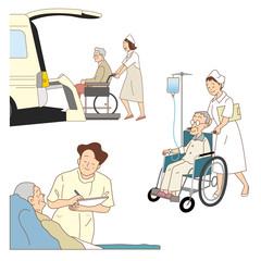 看護、介護士