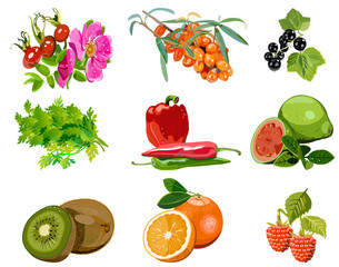 plant sources of vitamin C