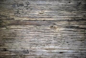 Verwitterte Holzoberfläche