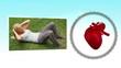 Videos of sportswoman next to a heart