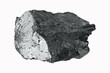 ein Stück Kohle, anthrazit, a piece of anthracite coal
