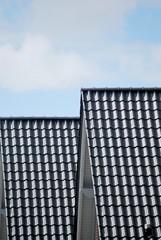 Neue Hausdächer