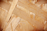 Wood chipboard background. poster