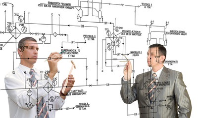 Designing engineering automation system.Teamwork