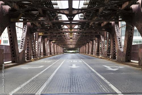 canvas print picture Bridge