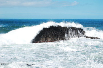 Kraftvolle Welle - Meer - Irland - Nordirland