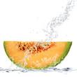 fetta di melone splash