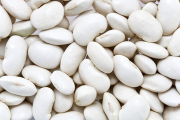 White bean background