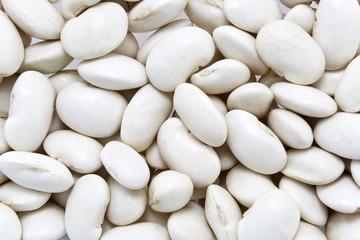 White bean background