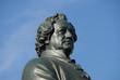 Leinwanddruck Bild - Goethe, Dichter, Denkmal, Nationaltheater, Weimar