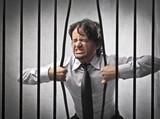 Fototapeta więzienie - ucieczka - Mężczyzna