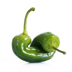 peperoni verdi freschi