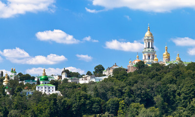 view of Kiev Pechersk Lavra