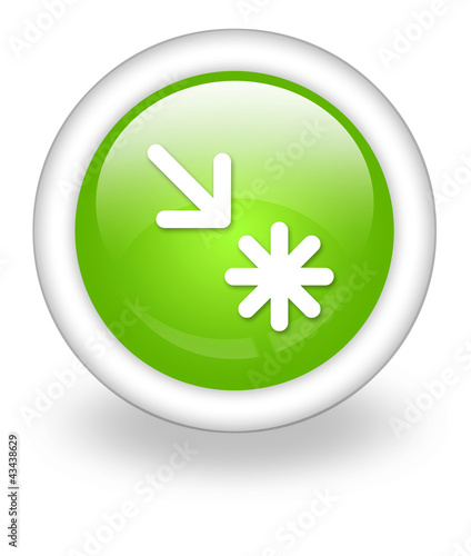 "Light Green Icon ""Point Of Interest"""