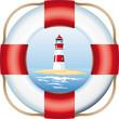 lighthouse in lifebelt