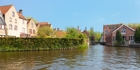 Wonderful channels of Brugge