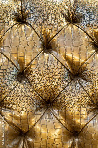 Staande foto Leder sofa texture