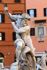 Fontana del Nettuno, Piazza Navona, Roma I