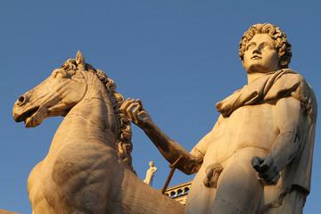 cavallo e cavaliere, Campidoglio - Roma II