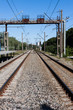 Railway rail road track