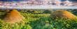 Leinwanddruck Bild - Chocolate Hills