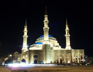 Mohammad al-Amin mosque in beirut lebanon