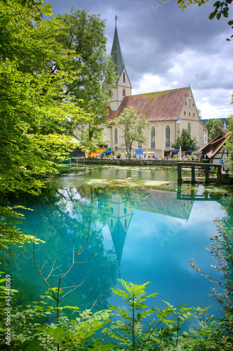Blautopf / Blaubeuren - Karstquelle - 43448069