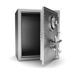 Fototapety Empty safe