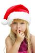 Psst...der Weihnachtsmann kommt