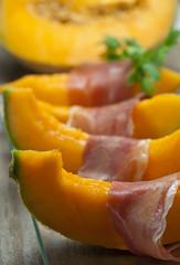 Prosciutto e melone - Ham and melon