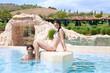Relax at resort pool